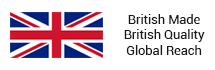 British Made, British Quality, Global Reach